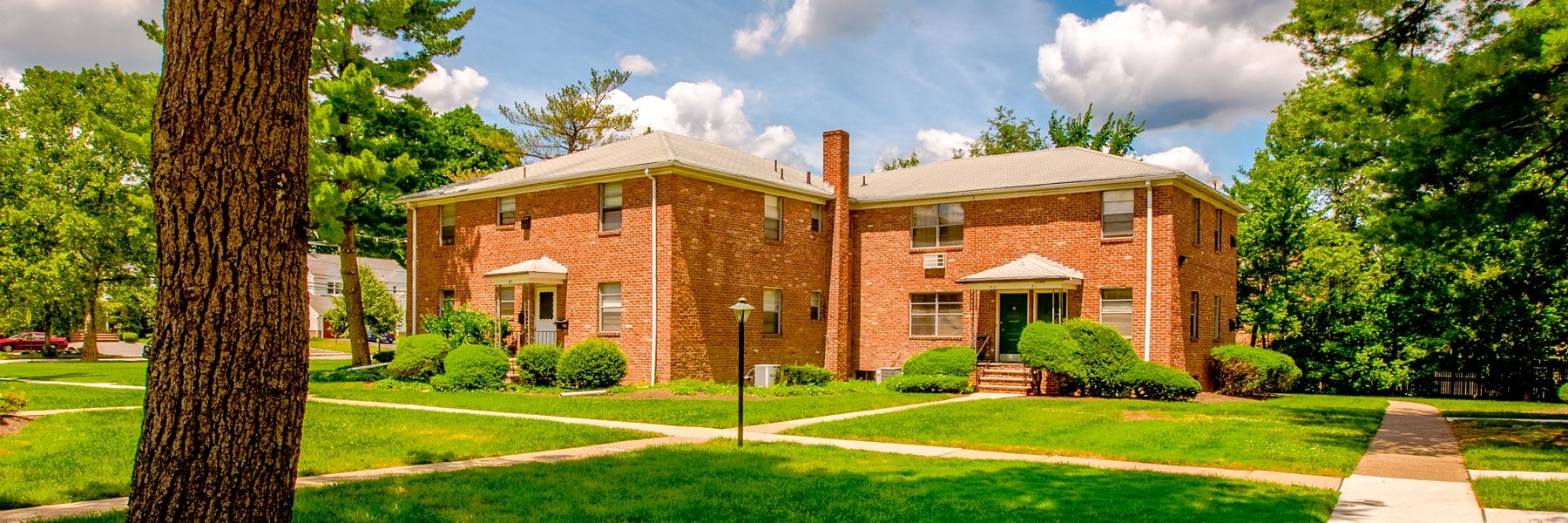 Mountain Manor Apartments For Rent in Springfield, NJ Building View