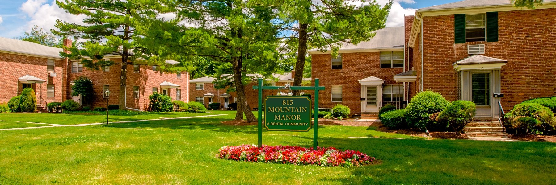 Mountain Manor Apartments For Rent in Springfield, NJ Welcome
